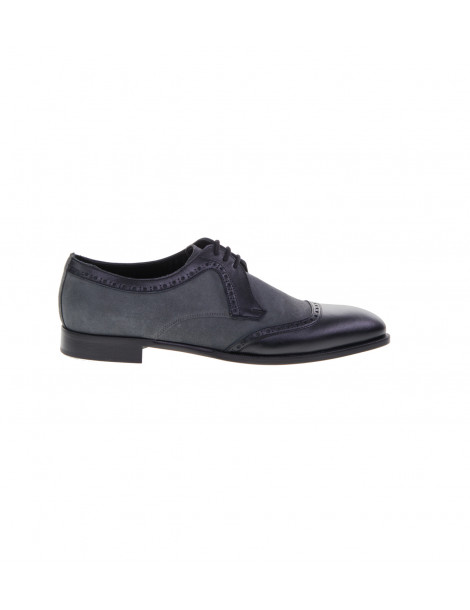 Δετά Παπούτσια Γκρι Μαύρο
