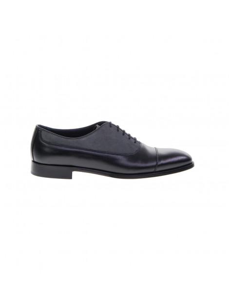 Δετά Παπούτσια Μαύρο Γκρι