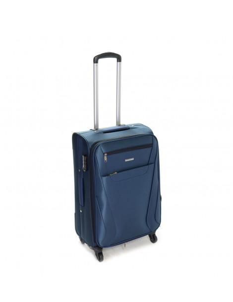 Βαλίτσα Ταξιδιού Σε Μπλε Χρώμα 60L