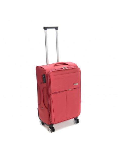 Βαλίτσα ταξιδιού σε κόκκινο χρώμα 73L
