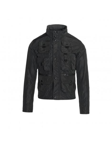 Ανδρικό Jacket Casual σε μαύρο χρώμα