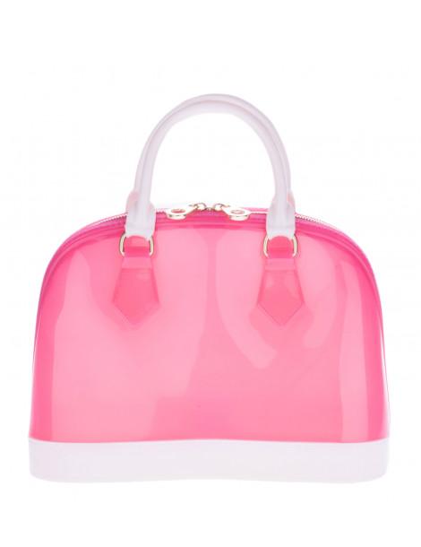Τσάντα Γυναικεία Χειρός Σε Ροζ
