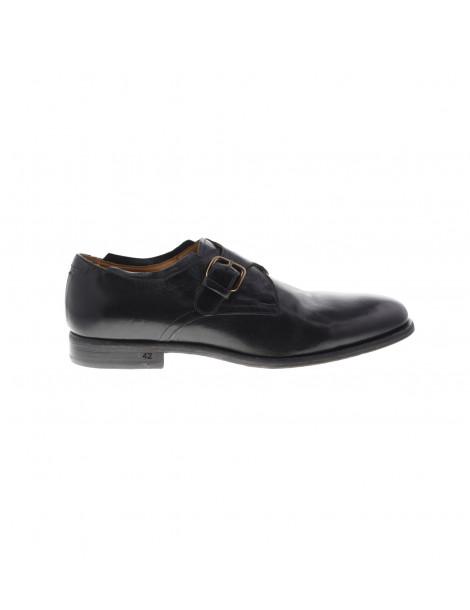Παπούτσια Monk Straps Μαύρα