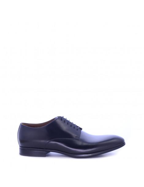 Παπούτσια Δερμάτινα Μαύρα