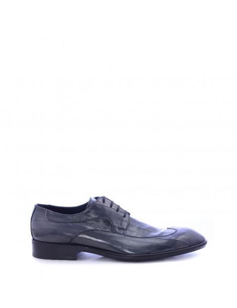 Παπούτσια Ανδρικά Derby Γκρι