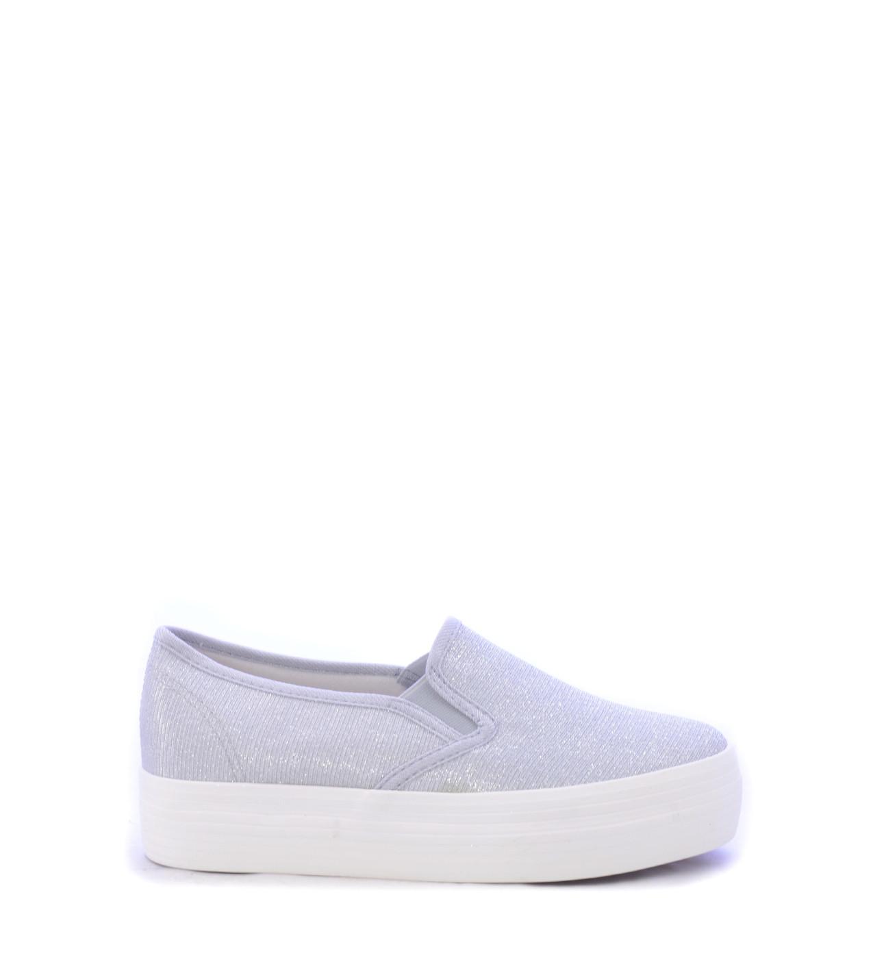 d6883d83e5d Casual Γυναικεία Παπούτσια Σε Ασημί Χρώμα   tsantapapoutsi.gr