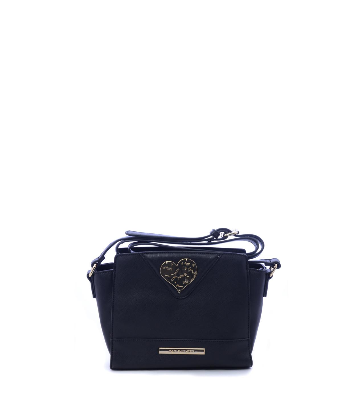 1f93636ab2 Paris Hilton Μαύρο Τσαντάκι Χιαστή (Bags)