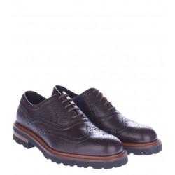 Παπούτσια Δετά Calzoleria Toscana Καφέ