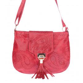 Γυναικεία Τσάντα Ώμου Από Δέρμα