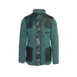 Πράσινο Μάλλινο Παλτό