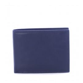 Μπλε Δερμάτινο Πορτοφόλι