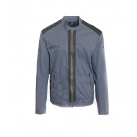Ράφ Mπλε Yφασμάτινο Jacket