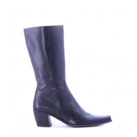 Μαύρες Δερμάτινες Μπότες
