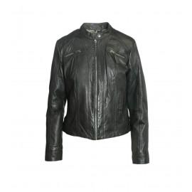 Σκούρο Πράσινο Biker Jacket