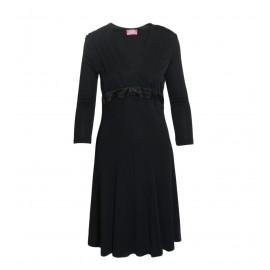 Μαύρο Τρουακάρ Φόρεμα