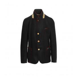 Ανδρικό Μαύρο Παλτό