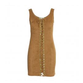Ταμπά Mini Suede Φόρεμα