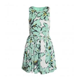 Γυναικείο Τυρκουάζ Φόρεμα Με Σχέδιο