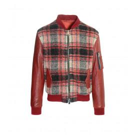Μάλλινο Jacket Σε Κόκκινη Απόχρωση
