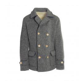 Ανδρικό Παλτό Σε Γκρι Χρώμα