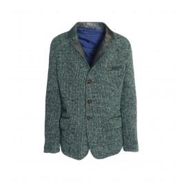 Μάλλινο Ιταλικό Πράσινο Παλτό