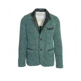 Ανδρικό Σακάκι Σε Πράσινο Χρώμα