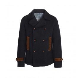 Μπλε Σκούρο  Ανδρικό Παλτό