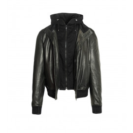 Δερμάτινο Jacket Σε Μαύρο Χρώμα