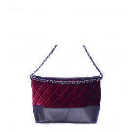 Γυναικεία τσάντα δερμάτινη μαύρη