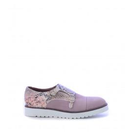 Γυναικεία παπούτσια Monk Straps σε ροζ χρώμα