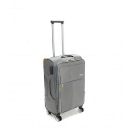 Βαλίτσα ταξιδιού 49L ελαφριά σε γκρι χρώμα