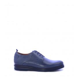 Ανδρικά παπούτσια Derby σε μπλε χρώμα