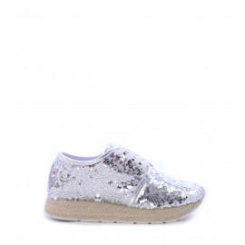 Παπούτσια Ασημί