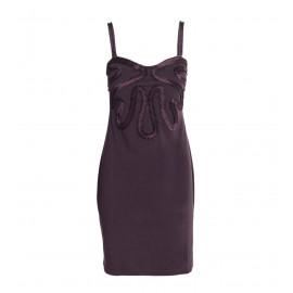 Mini Μοβ Γυναικείο Φόρεμα