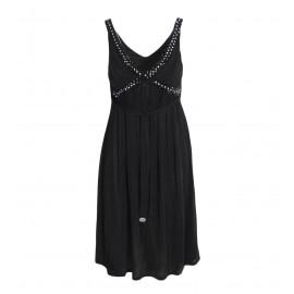 Φόρεμα Γυναικείο Μαύρο Με Χάντρες