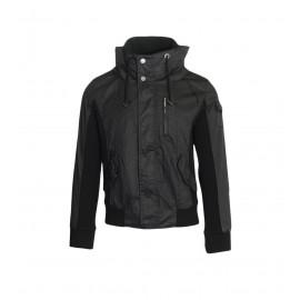 Ανδρικό Jacket μοντέρνο σε μαύρο χρώμα