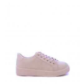 Γυναικεία Casual μπεζ υφασμάτινα παπούτσια