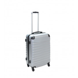 Βαλίτσα Καμπίνας Σε Ασημί Χρώμα 34L
