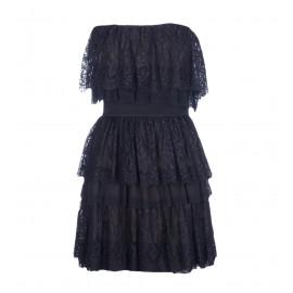 Φόρεμα Στραπλες Με Δαντέλα