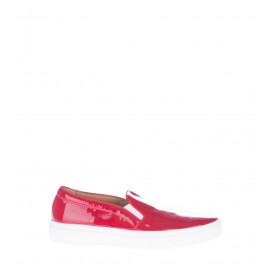 Λουστρίνι Slip on Παπούτσια Σε Κόκκινο Χρώμα