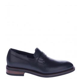 Μαύρα Δερμάτινα Ανδρικά Loafers