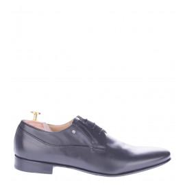 Δερμάτινα Παπούτσια Μαύρα