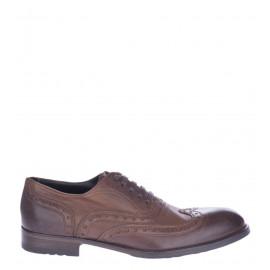 Δετά Παπούτσια Oxfords σε Καφέ