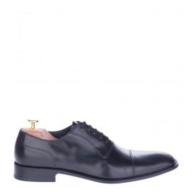 Δετά Παπούτσια Doucal's Oxfords Μαύρα