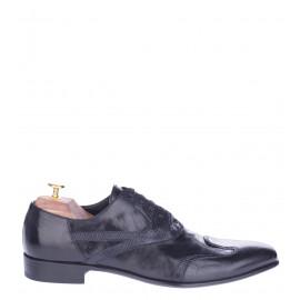 Παπούτσια με Κορδόνι Doucal's Μαύρο