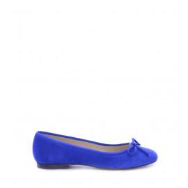 No. 37 Μπλε Suede Μπαλαρίνες