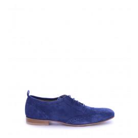 No. 37 Μπλε Suede Δερμάτινα Brogues