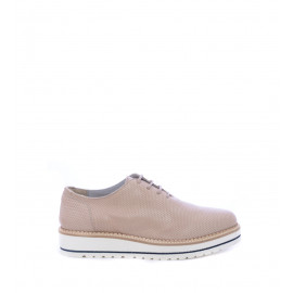 Nude Δερμάτινα Oxfords