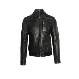 Μαύρο Δερμάτινο Jacket