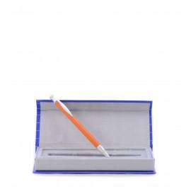 Πορτοκαλί Στυλό Σε Θήκη